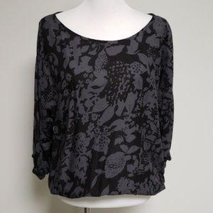 Velvet by Graham & Spencer Floral Long Sleeve Top